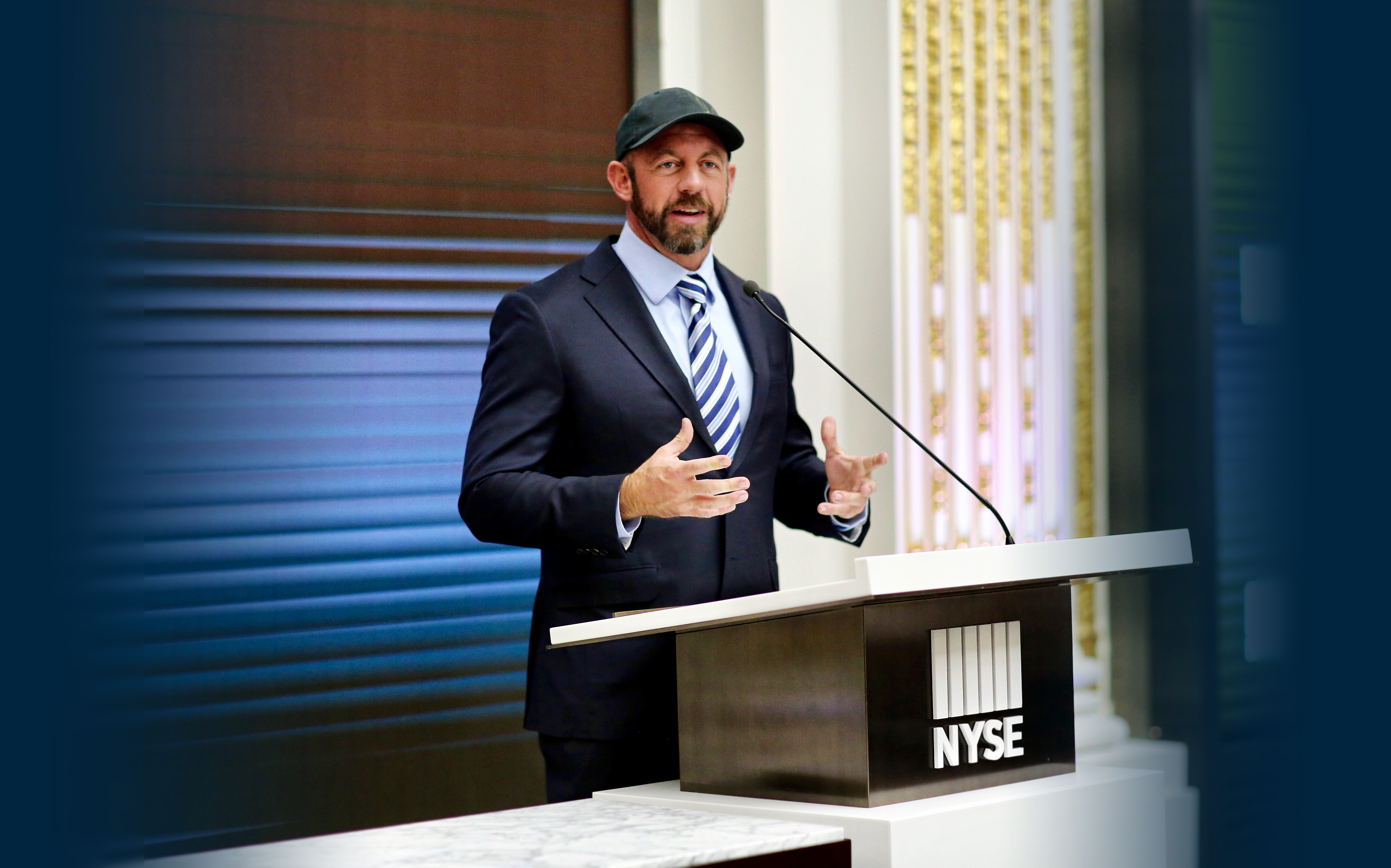 mike ritland speaking at nyse new york stock exchange